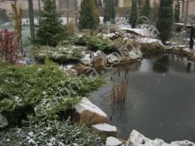 Пленочный водоем зимой. Харьков.