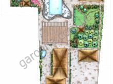 Дизайн -проект озеленения гостиницы.