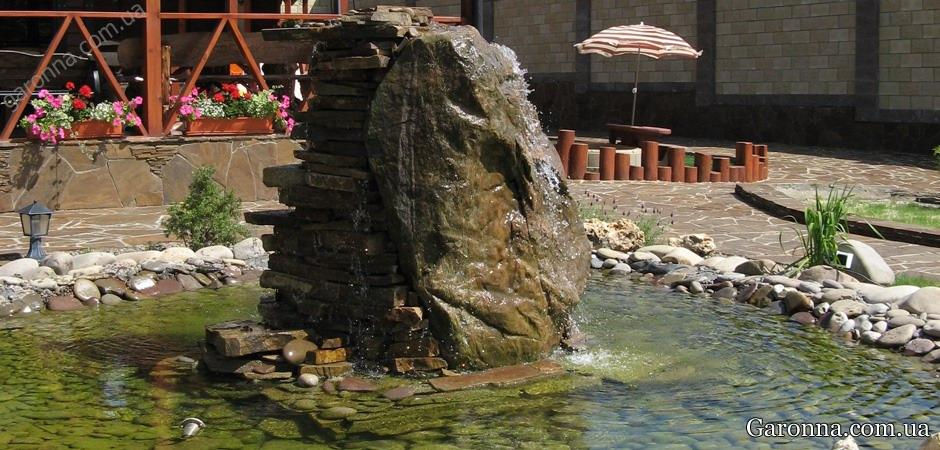 Водопад с бассейном
